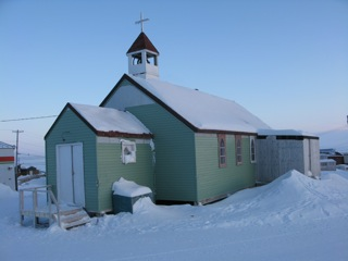 Church in Resolute Bay, Nunavut