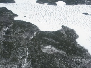 Many remote lakes in Northern Canada have