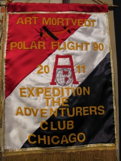 Art Mortvedt, Polar Flight 90 2011 Expedition The Adventurers Club Chicago