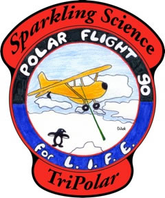 Sparkling Science: Polar Flight 90 for Lfe